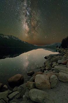 Tenaya Lake Reflection by Keith Marsh