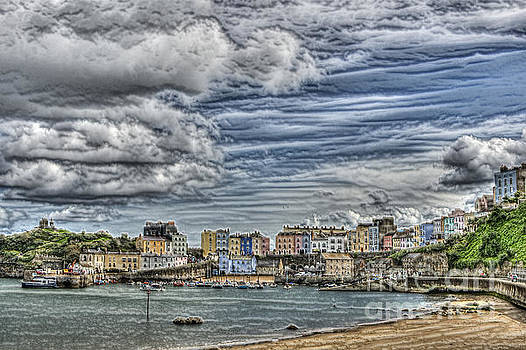 Steve Purnell - Tenby Harbour Texture Effect
