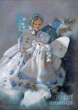 Tenderness Snow Fairies by Nancy Lee Moran