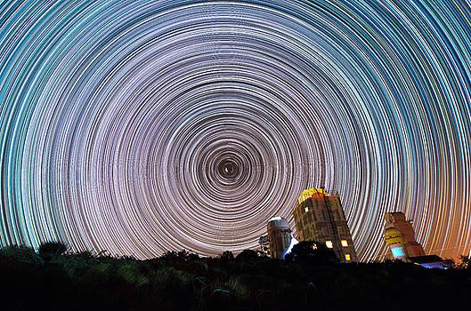 Tenerife Star Trails by Bartosz Wojczynski
