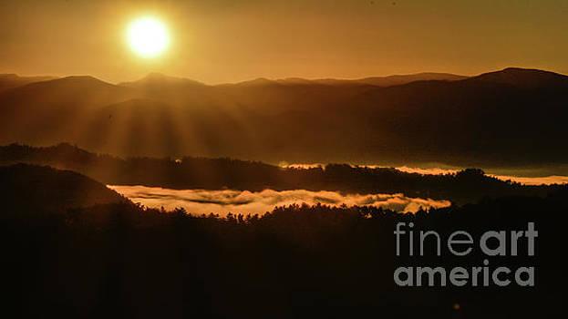 Smoky Mountain Sunrise No.2 by John Greco