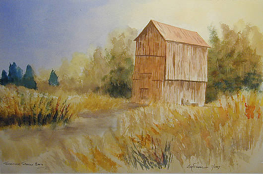 Tennessee tobacco barn by Jim Stovall