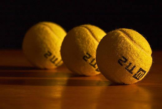 Tennis Balls by Valerie Morrison
