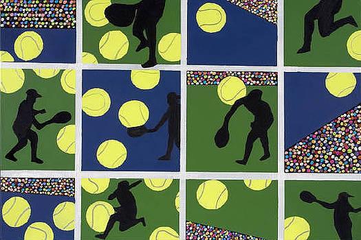 Tennis Crazed by Mike Weinstein