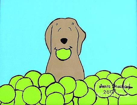 Artists With Autism Inc - Tennis Dog