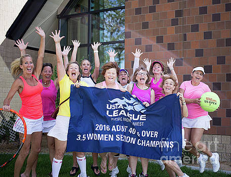 Tennis Ladies 3.5 Champs by MaJoR Images