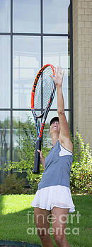 Tennis Trophy Poser by MaJoR Images