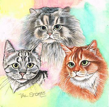 Tentative Trio by Val Stokes