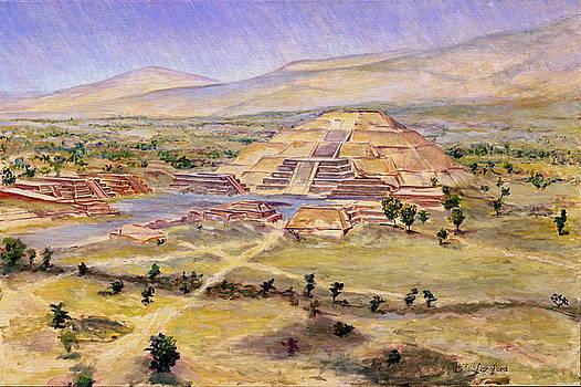 Teotihuacan by Jackie Langford