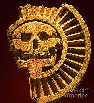 Teotihuacan Skull by Inge Johnsson
