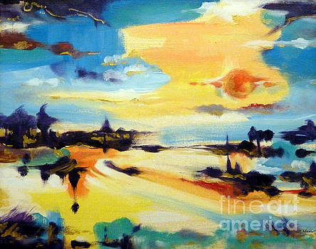 Tequila Sunrise by Cheryl Emerson Adams