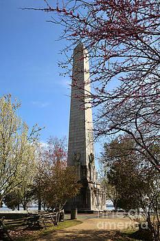 Tercentennial Monument at Jamestown by Rachel Morrison
