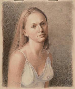 Teresa In Sun Dress by Todd Baxter