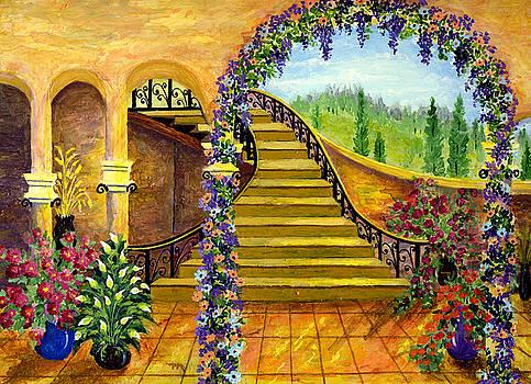 Terrace Garden by Bonnie Cook