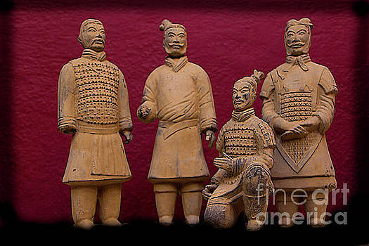 Terracotta Army III by Al Bourassa