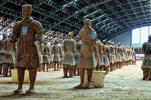 Terracotta Warriors  by Rick Lawler