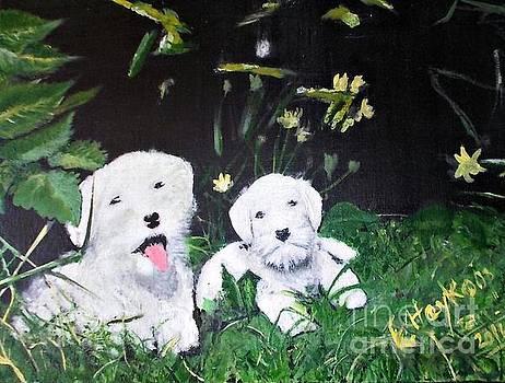 Terriers' farm pals. by Francine Heykoop