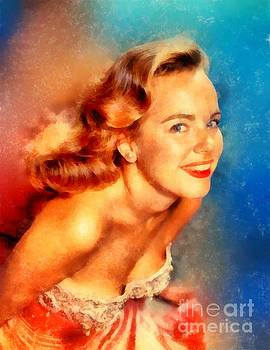 Frank Falcon - Terry Moore, Vintage Hollywood Actress