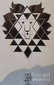 Tesseract, Merkabah King by Jude Darrien