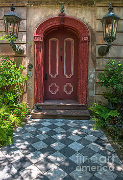 Dale Powell - Grand Red Door Entrance