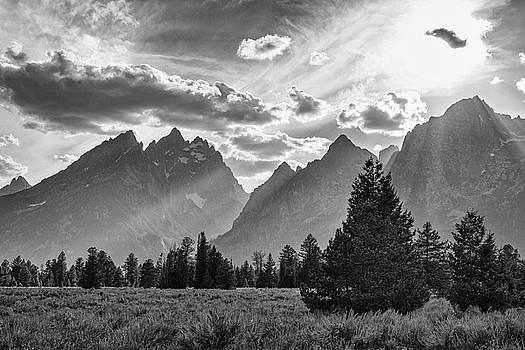 Teton County In Black and White by James BO Insogna