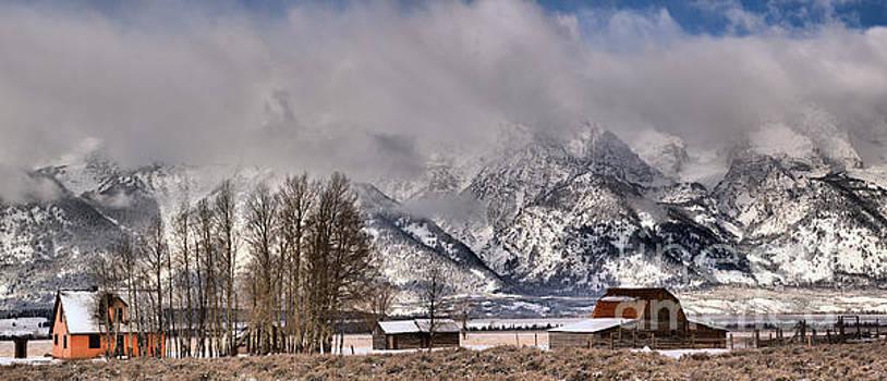 Teton Mormon Row Panorama by Adam Jewell