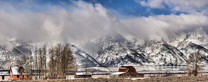 Teton Mountains Over Mormon Row by Adam Jewell