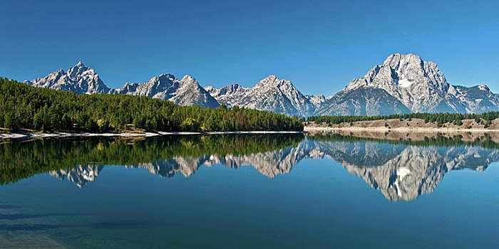 Teton Reflections II by Gary Lengyel