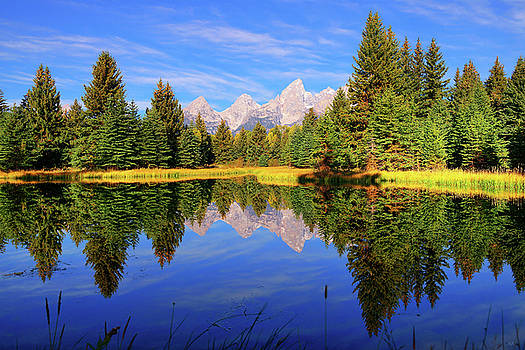 Teton Tranquility by Greg Norrell