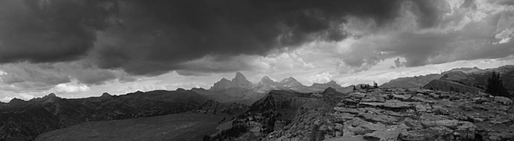 Raymond Salani III - Tetons from the Summit of Fred
