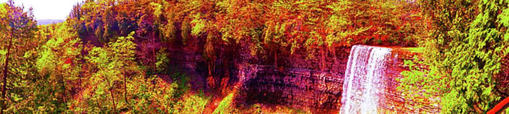 Tews Falls Pano by Daniel Thompson