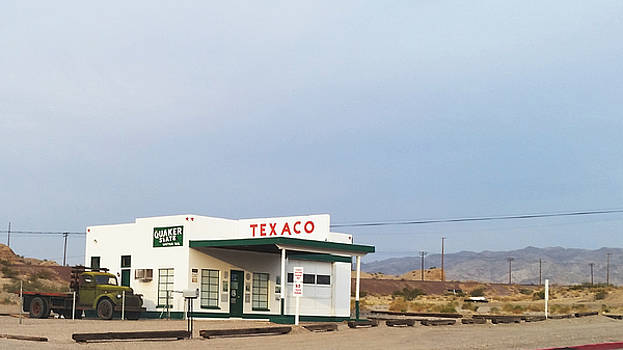 Texaco Station by Eirik Gumeny