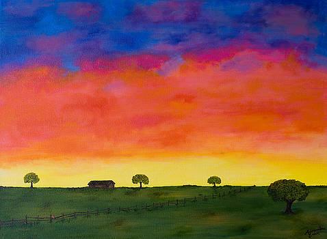 Texas 1952 by Alexandra Brown