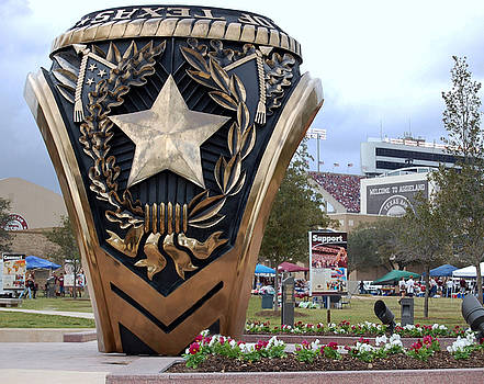 Texas Aggie Game Day by Charles Frieda
