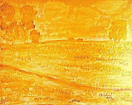 Texas Bluebonnet Gold 10 by Richard W Linford