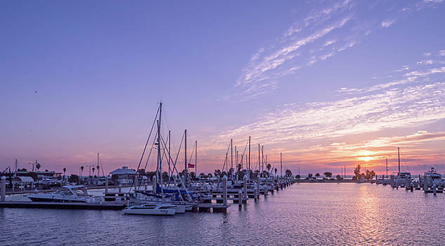 Texas Coast at Sunrise 3 by Leticia Latocki