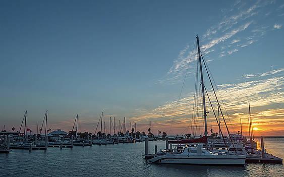 Texas Coast at Sunrise 4 by Leticia Latocki