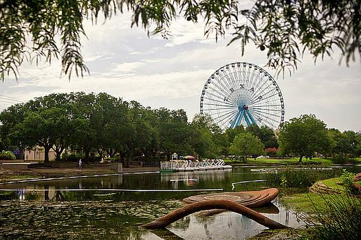 Texas Ferris Wheel and Garden by Jennifer Zandstra