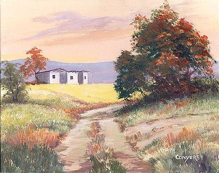 Texas Landscape by Peggy Conyers