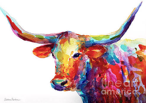 Texas Longhorn art by Svetlana Novikova