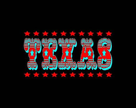 Art America Gallery Peter Potter - Texas Tshirt Design