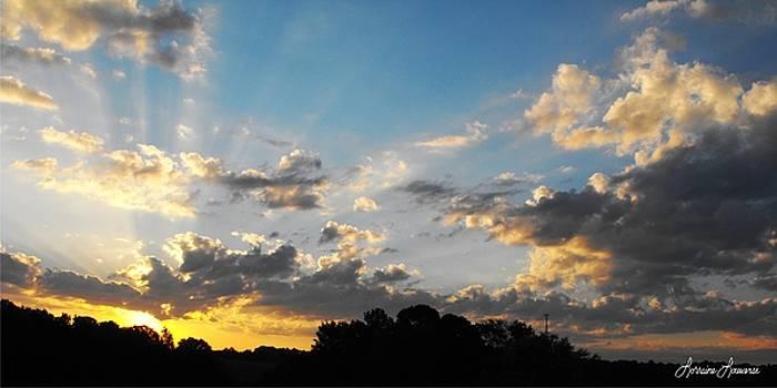 Texas Sky 1 by Lorraine Louwerse