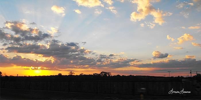 Texas Sky 2 by Lorraine Louwerse