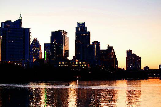 Art Block Collections - Texas Skyline - Austin