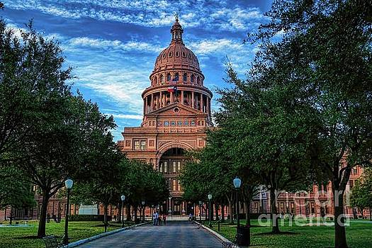 Texas State Capitol by Diana Mary Sharpton