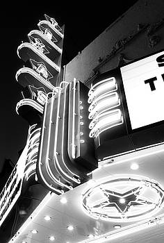 Texas Theater Dallas bw 121417 by Rospotte Photography