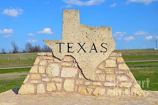 Texas Welcome Sign by Catherine Sherman