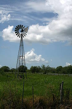 Texas Windmill by Terry Burgess