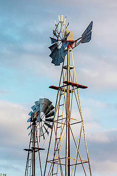 Art Block Collections - Texas Windmills