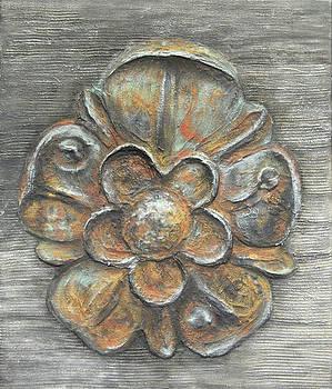 Texture Garden Flora II by Carla E Reyes